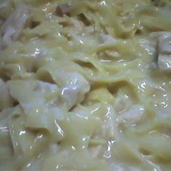 fable's crockpot chicken and noodles