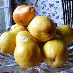 Bowl of Ripe Pears
