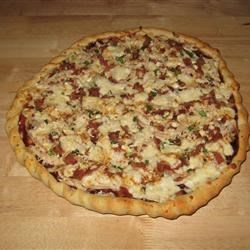 Husband-Friendly Chicken Pizza Recipe