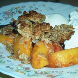 Raspberry Peach Crumble Recipe