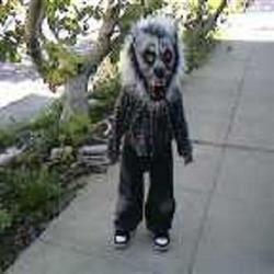 werewolf for halloween