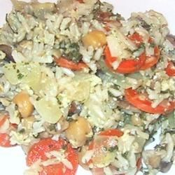 Home-Style Brown Rice Pilaf Recipe
