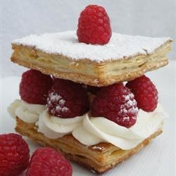 Photo of Raspberry Napoleons Dessert by Baker's Daughter
