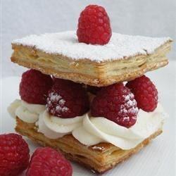 Raspberry Napoleons Dessert