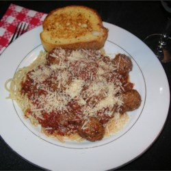 Spaghetti Sauce II with Meatballs