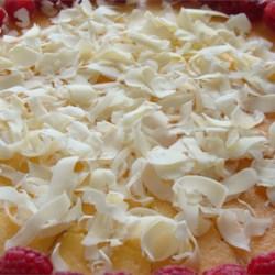 White Chocolate Cheesecake!