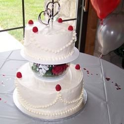 Nick & Terra's Wedding Cake