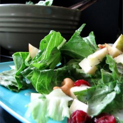 Winter Fruit Salad with Lemon Poppyseed Dressing Recipe