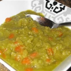 Split Pea Soup without Pork Recipe