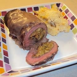 Photo of Stuffed Flank Steak by BarbiAnn