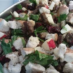 Cranberry, Sausage and Apple Stuffing