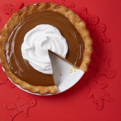 Silky Gingerbread Pie