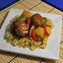 Photo of Sweet and Sour Meatballs by Inspired by Home Cooks