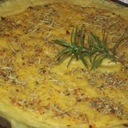 Polenta with Rosemary and Parmesan Recipe