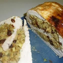 Photo of Turkey Breast Roulade with Apple and Raisin Stuffing by Spartan1977