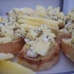 Image of Apple Goat Cheese Bruschetta, AllRecipes