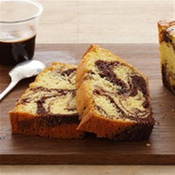 Easy Pound Cake Made With Walnuts And Cake Mix