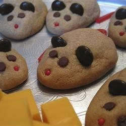 Peanut Butter Christmas Mice Recipe