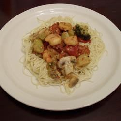 Shrimp and Sun-Dried Tomato Scampi
