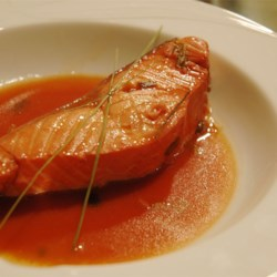 Lemongrass and Citrus Poached Salmon