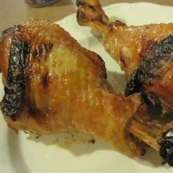 Grilled Turkey Legs Recipe