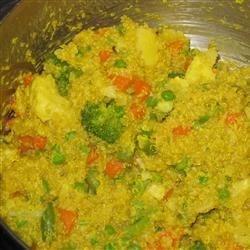 Quinoa Biryani Recipe