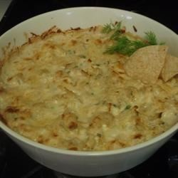 Photo of Cheesy Artichoke Dip by Jean Carper by USA WEEKEND columnist Jean Carper