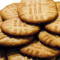 Photo of School Cafeteria Peanut Butter Cookies by SCHETTIGGIRL