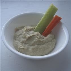 Roasted Garlic Bean Dip