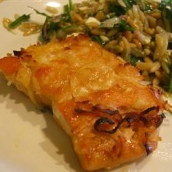 Honey Coconut Salmon