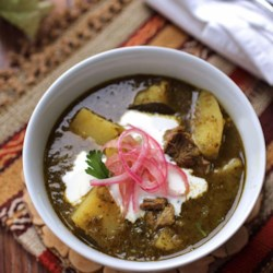 Pork Chili Verde (Green Pork Chili)