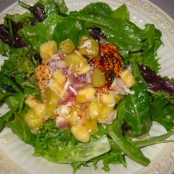 Salmon With Fruit Salsa by Jean Carper Recipe