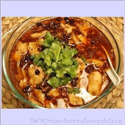 Shui Zhu Yu (Sichuan Boiled Fish) Recipe