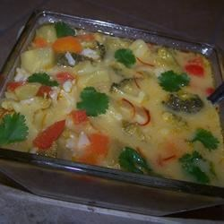 Spicy Thai Vegetable Soup Recipe