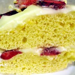 Mock Lemon Chiffon Cake Recipe