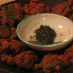 Crispy Vegetable Pakoras |
