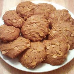 Butterscotch Apple Cookies