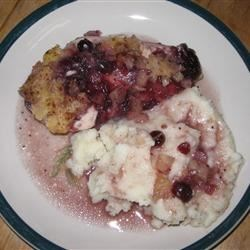 Pineapple Cranberry Chicken Recipe