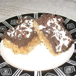 Mocha Java Bars Recipe