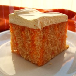 Orange Cream Cake I Recipe