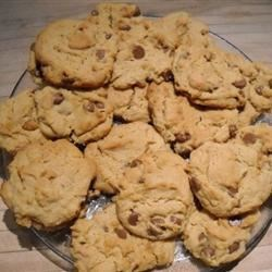 Peanut Butter Chocolate Chip Cookies III Recipe