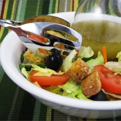 Italian Restaurant-Style Salad Dressing I Recipe