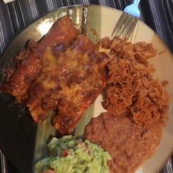 Tex-Mex Beef and Cheese Enchiladas