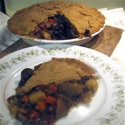 Portobello Pot Pie Recipe