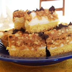 Peanut Candy Bar Cake
