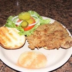 Traditional Indiana Breaded Tenderloin Sandwich