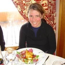 Slopeside Lunch in Trois Vallees, France