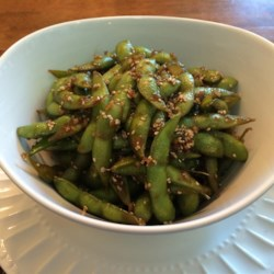 garlic teriyaki edamame recipe photos