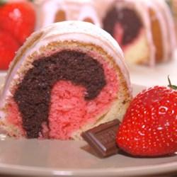 Neapolitan Bundt Cake Recipe