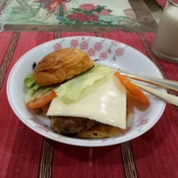 Chinese-Style Cheeseburgers